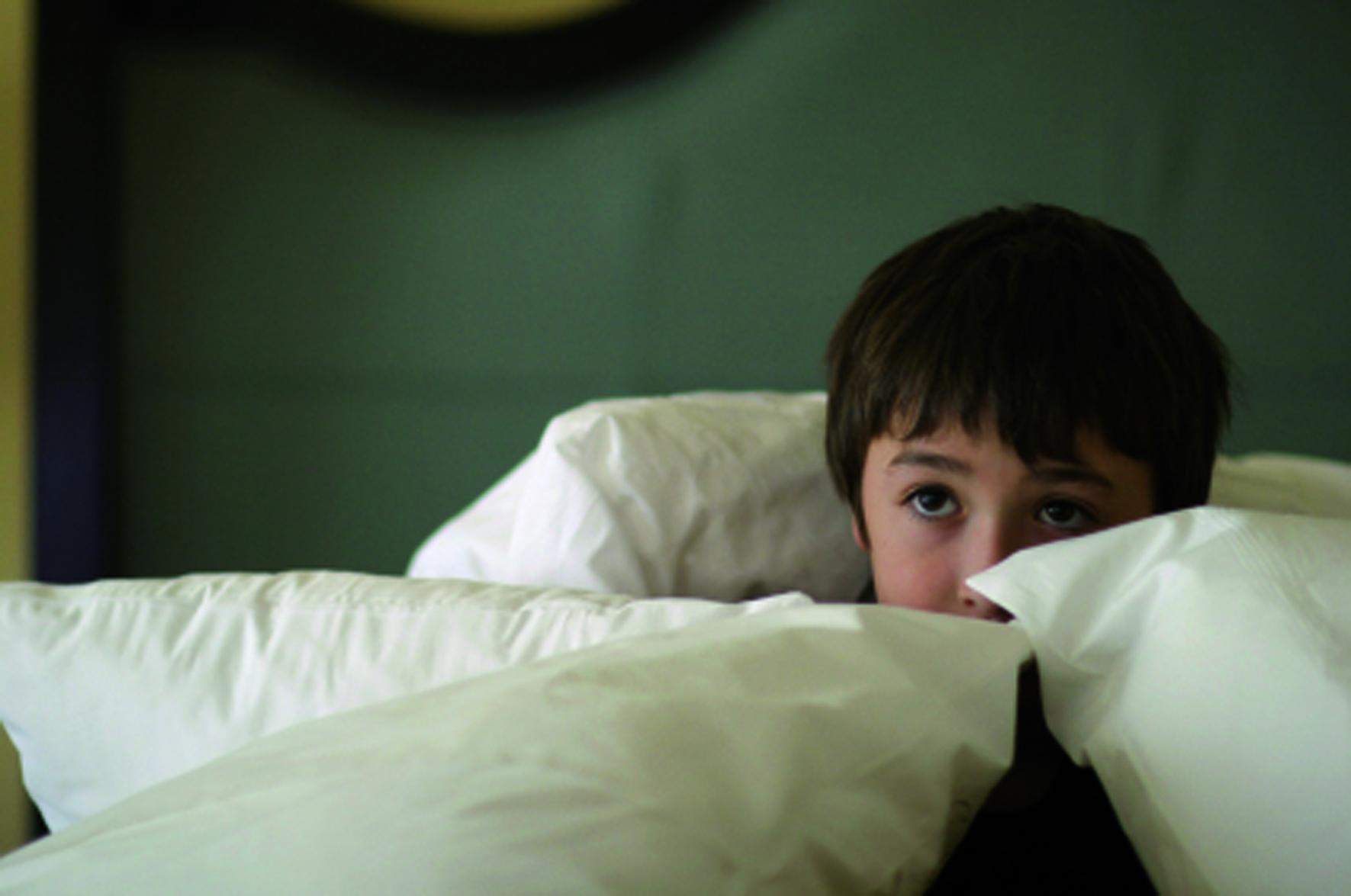 Nen amb por a dormir